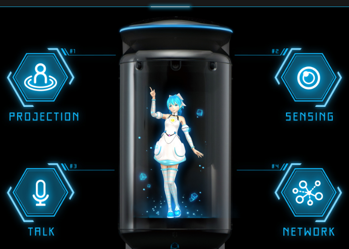 ついに実現?!「二次元の嫁」~アニメキャラと生活できる「Gatebox」~