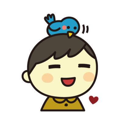 鳥と幸せな人