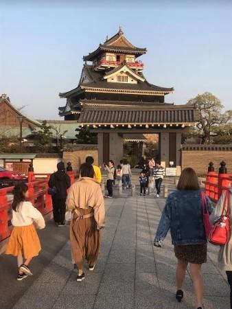 清洲城 さくらまつりに行ってきました。